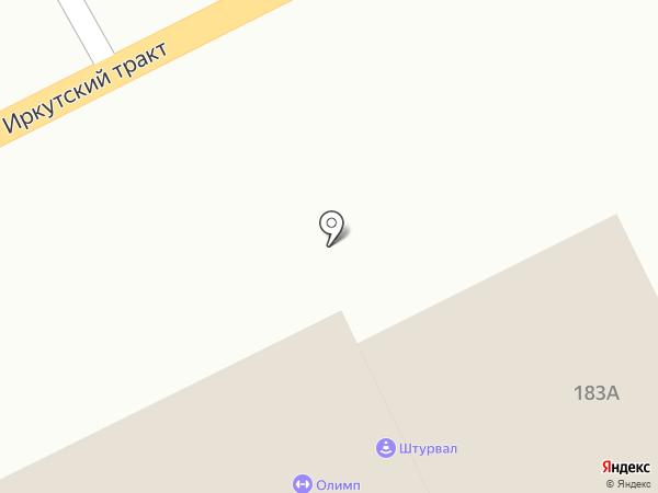 Навигатор на карте Томска