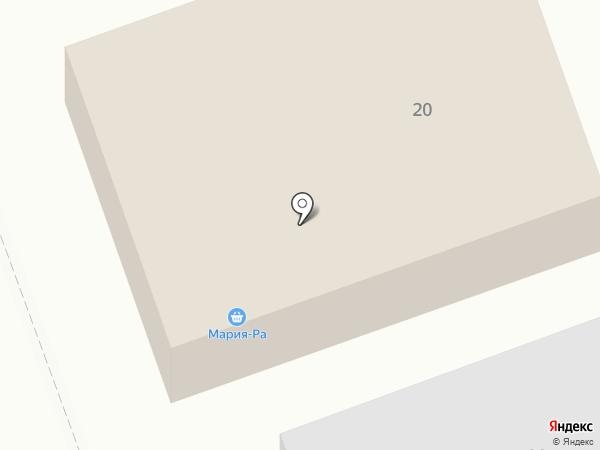 Мария-Ра на карте Смоленского
