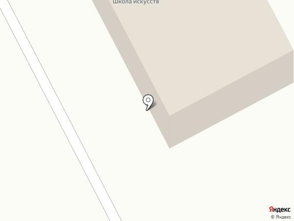Смоленская детская школа искусств на карте Смоленского