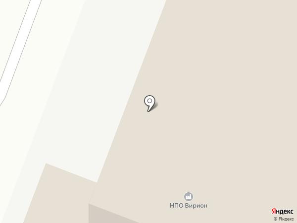 Аптечный пункт на карте Томска