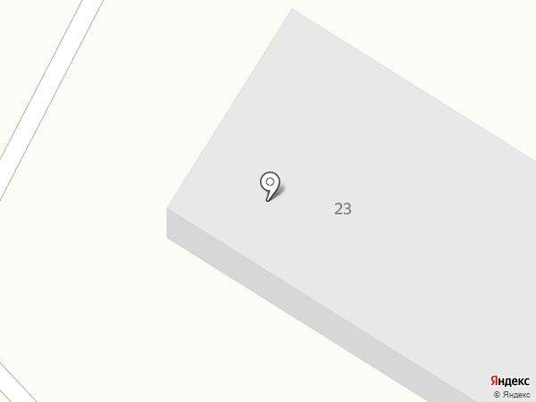 Снабженческое дорожное предприятие №223 на карте Бийска