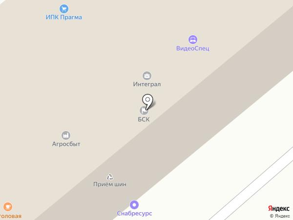 Лабиринт на карте Бийска