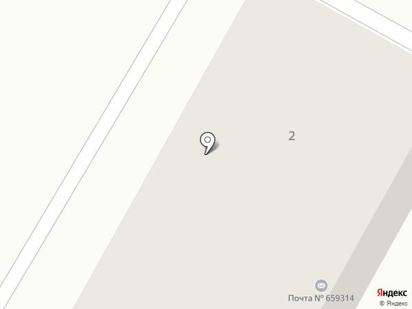 Почтовое отделение №14 на карте Бийска