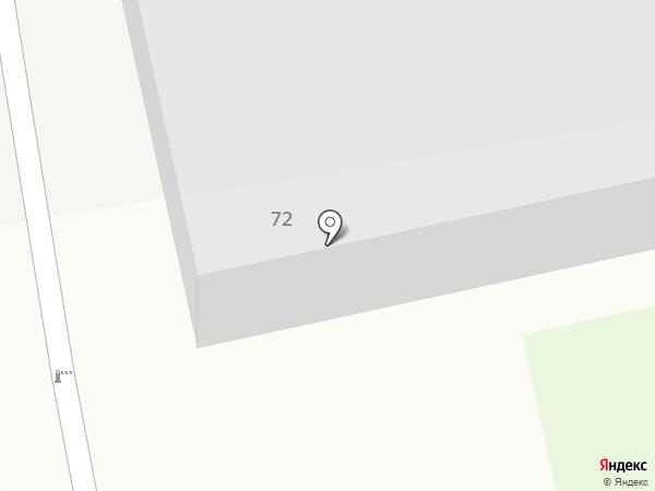 Пожарная часть №21 на карте Бийска