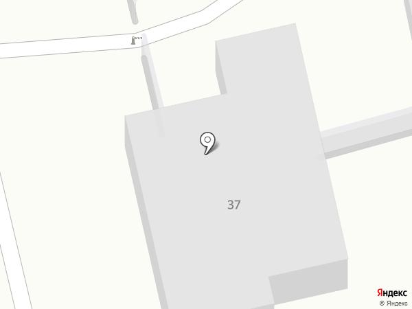 Заря на карте Бийска