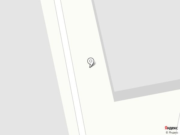 Луч на карте Бийска