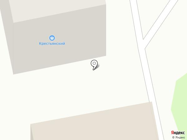 Крестьянский на карте Бийска