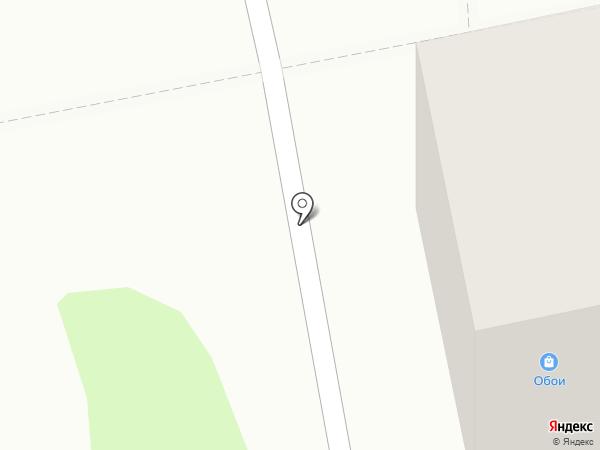 Сеть магазинов обоев на карте Бийска