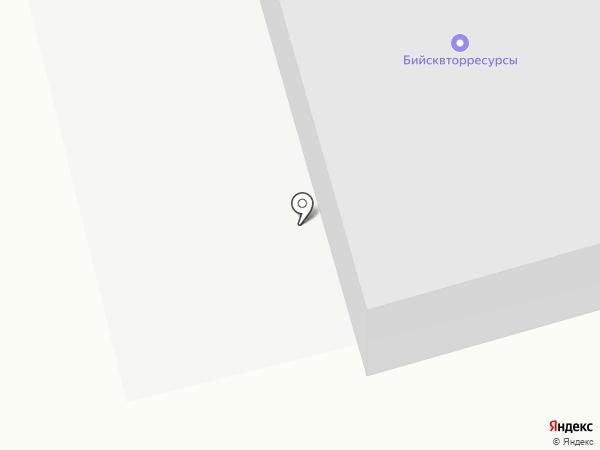 Бийсквторресурсы на карте Бийска
