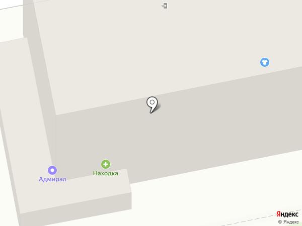 Находка на карте Бийска