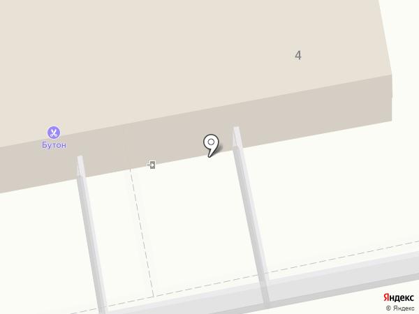 Бутон на карте Бийска