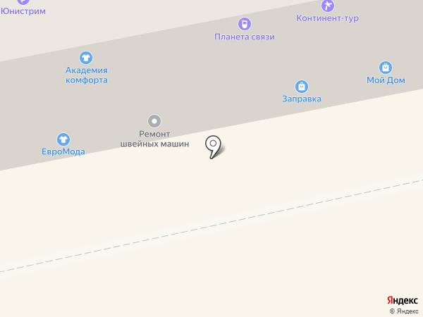Пламена на карте Бийска