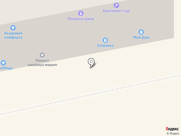 Заправка на карте Бийска
