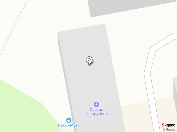 Магазин-склад на карте Бийска
