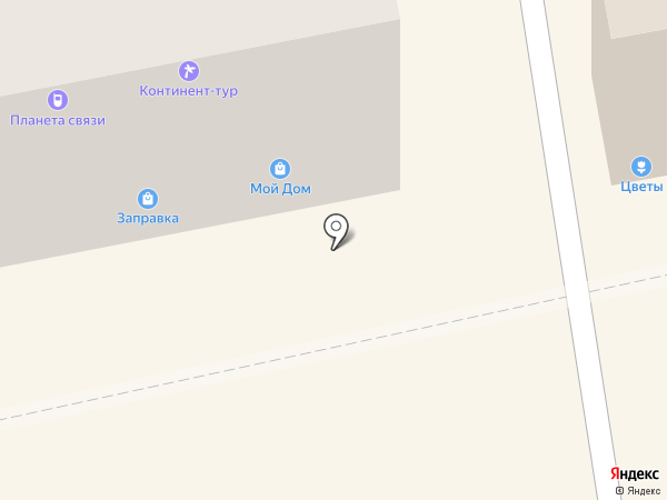 Фокина М.Н. на карте Бийска