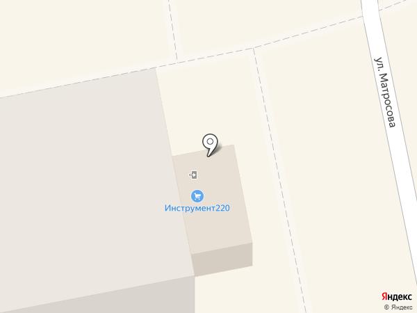 АлтайИнструмент220 на карте Бийска