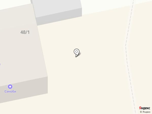 Магазин по продаже рыбы на карте Бийска