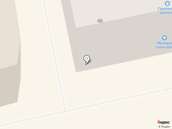 ПиОН на карте Бийска
