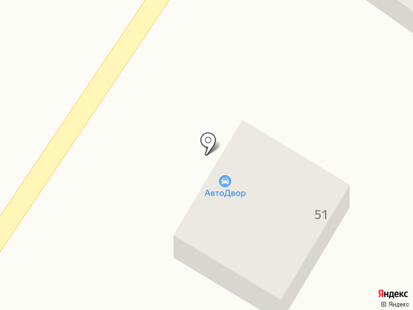 АвтоДвор на карте Бийска