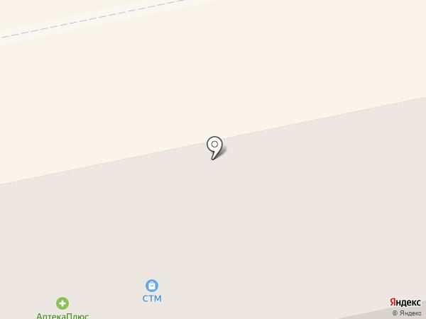 СТМ на карте Бийска
