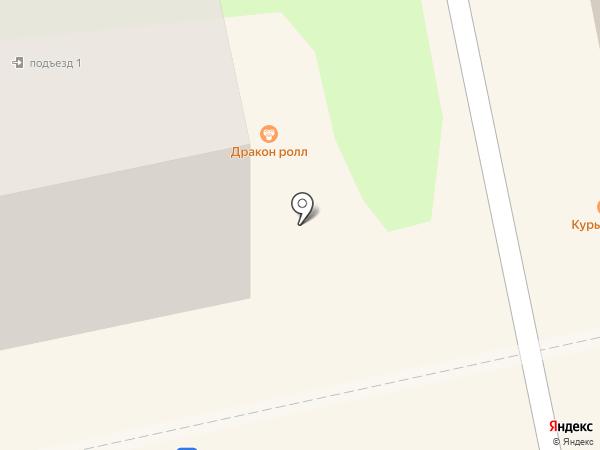 Капелька на карте Бийска