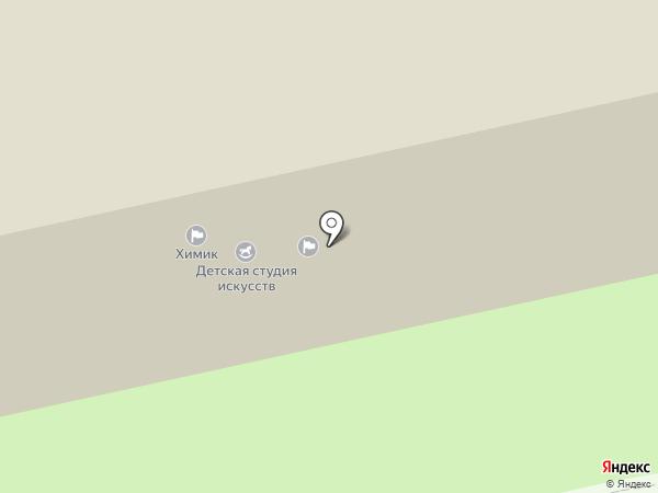 СДЮШОР №3 на карте Бийска