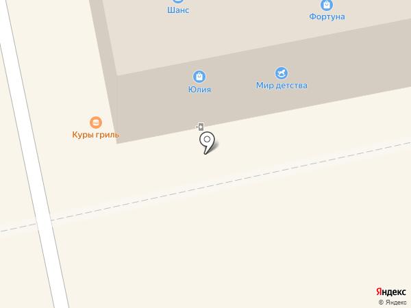 Люстрим на карте Бийска