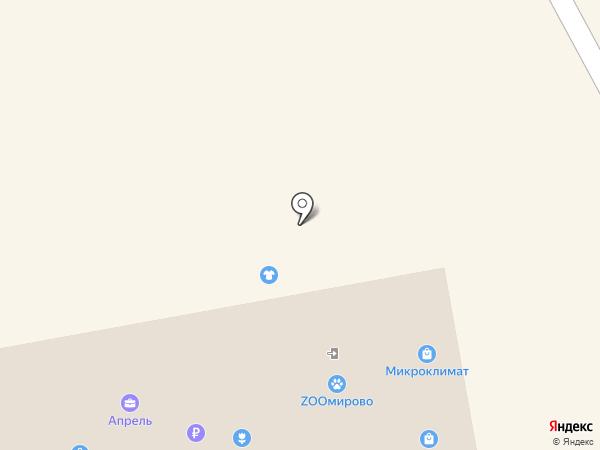 Квадро на карте Бийска