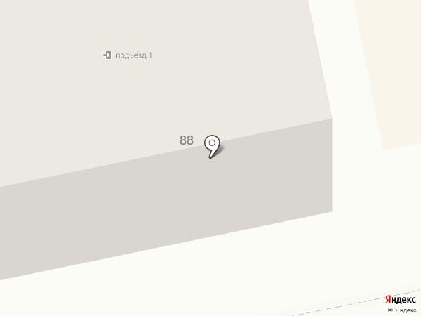 Асклепейон на карте Бийска