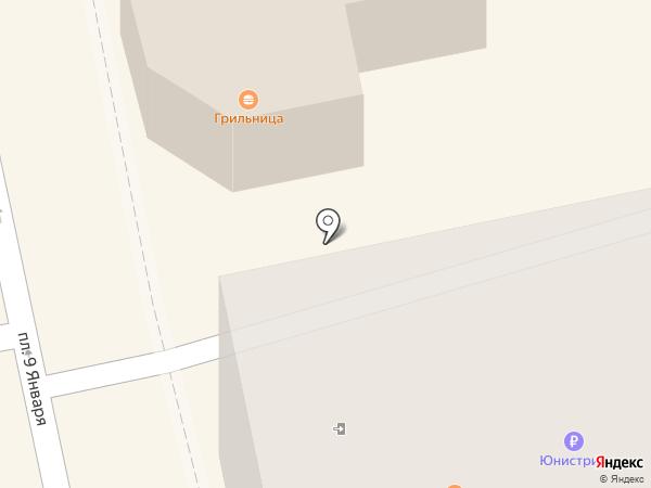 Грильница на карте Бийска