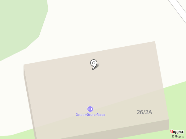 Каток на карте Бийска