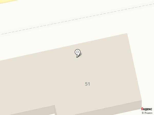 Приход соборной мечети на карте Бийска