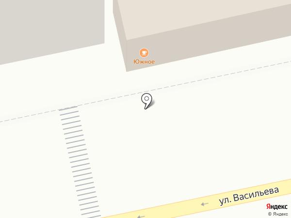 Южное на карте Бийска