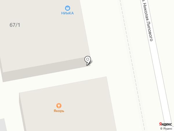 НИиКА на карте Бийска