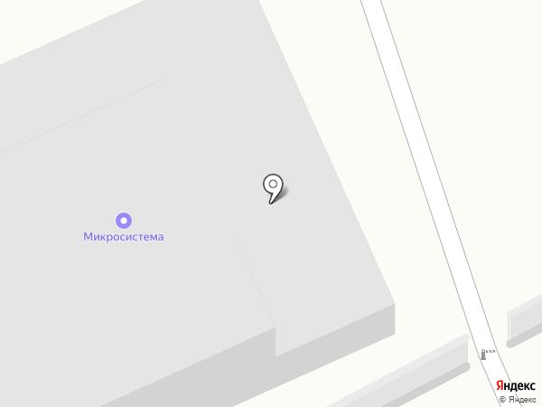 Микросистема на карте Бийска