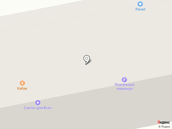 Кабак на карте Бийска