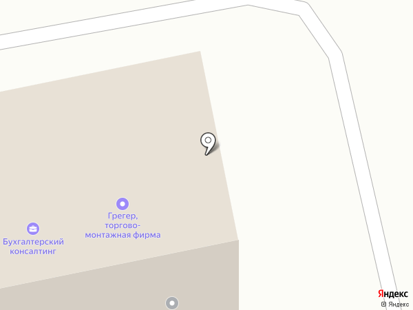 Тандем на карте Бийска