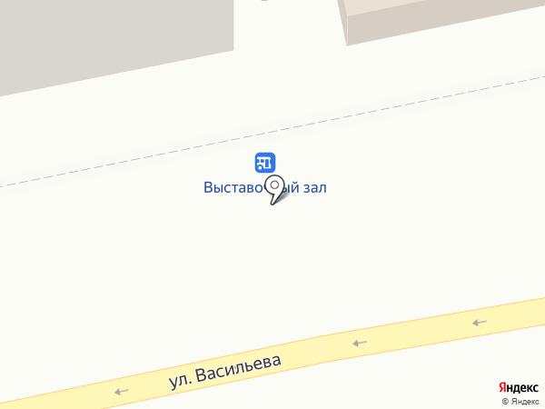 Сударь на карте Бийска