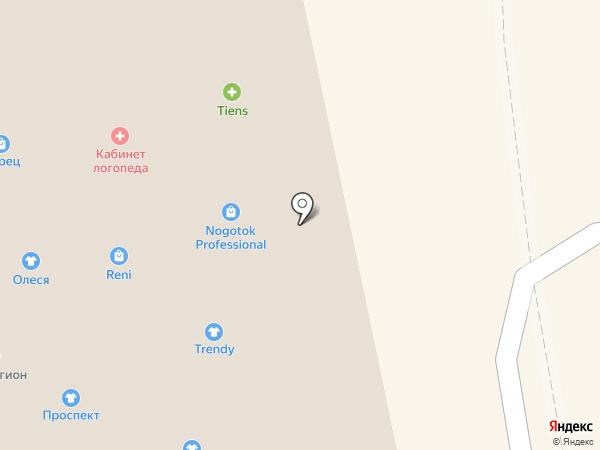Приобье на карте Бийска