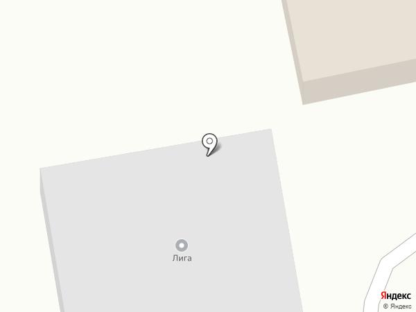 Лига на карте Бийска