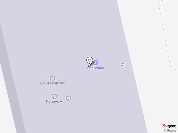 Титан на карте Бийска