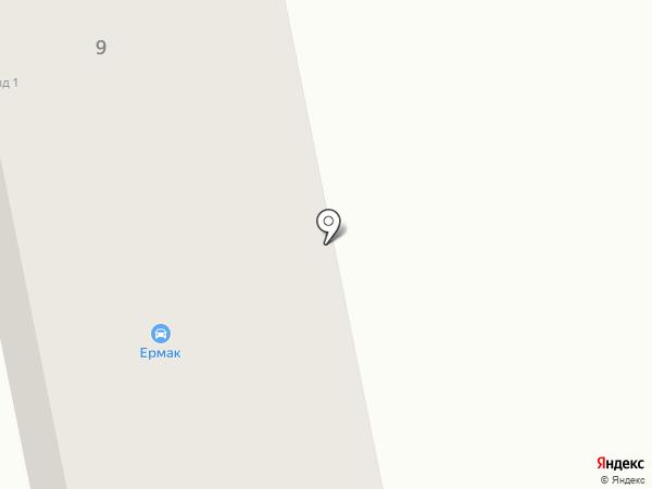 Ермак на карте Бийска
