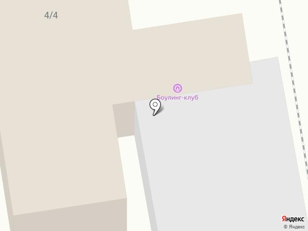 Боулинг-клуб на карте Бийска