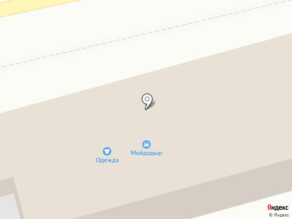 Пешеход на карте Бийска