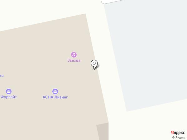 ЗВЕЗДА на карте Бийска