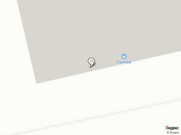 Сытный на карте Бийска