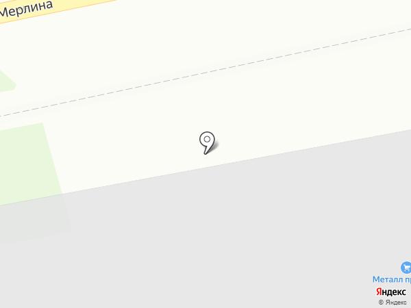 Атлетик-PRO на карте Бийска