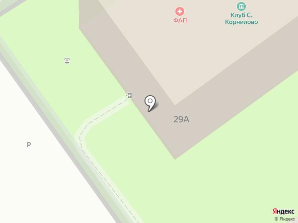 Отделение общей врачебной практики на карте Корнилово
