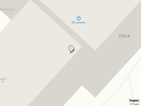 Островок на карте Бийска