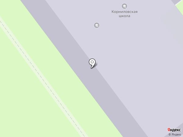 Федерация Тхэквондо Томской области на карте Корнилово